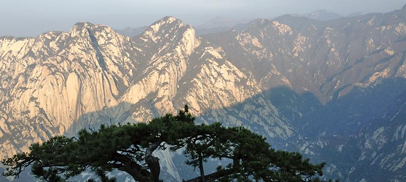 Au sommet du mont Hua