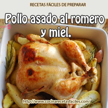 Receta de pollo asado al romero miel y mostaza v deo for Cocinar un pollo entero