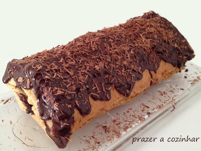 prazer a cozinhar - torta de chocolate