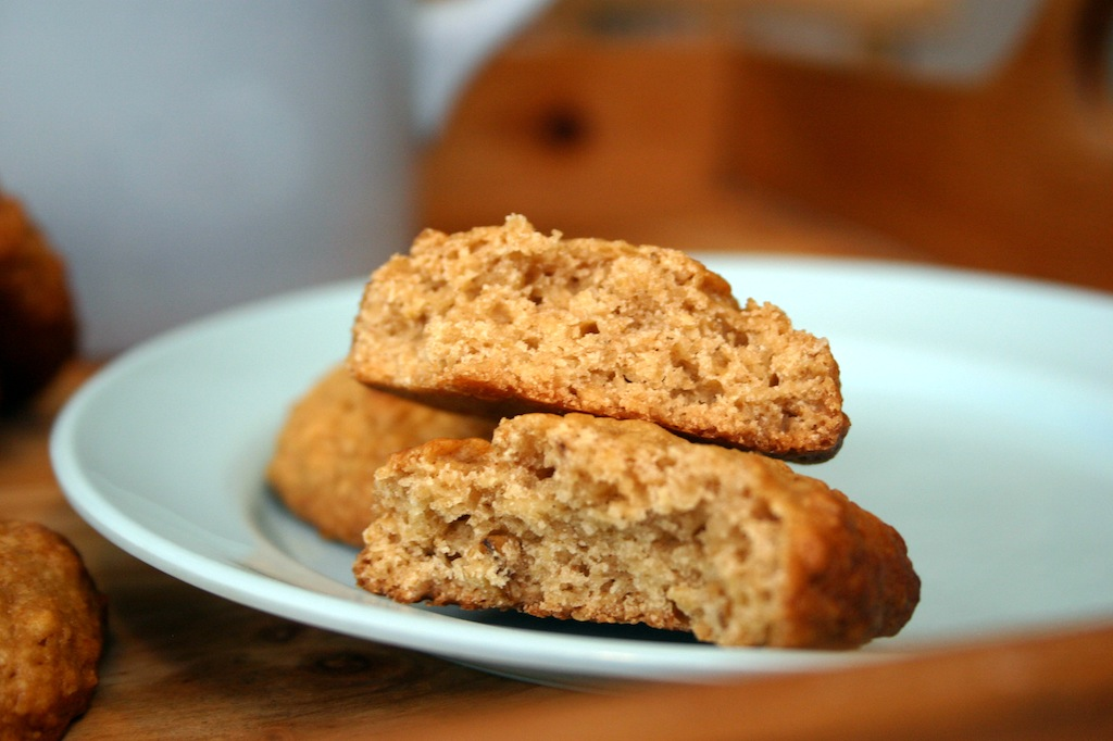 Belleau Kitchen: honey and cinnamon oat biscuits