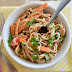 Soba Noodles With Spicy Peanut Sauce Recipe