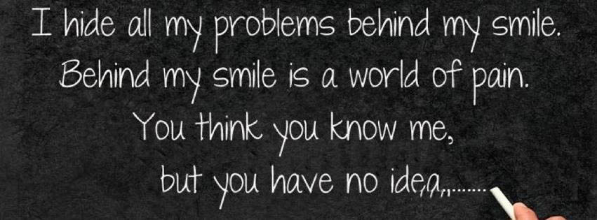 All Problems Are Behind My Smile
