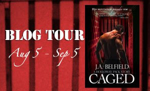 Blog Tour: Caged (A Holloway Pack Story #3) by JA Belfield