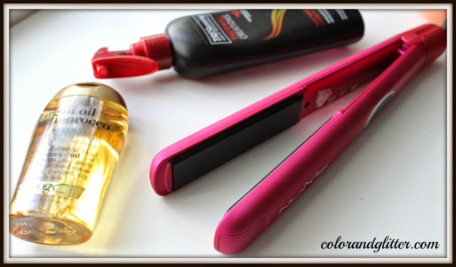 Take Care Tuesdays!: How I straighten my hair!