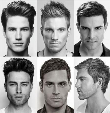 contoh-contoh gaya rambut pendek pria terbaru