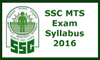 SSC Multitasking Syllabus