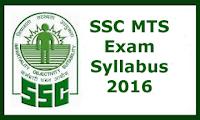 SSC Multitasking Syllabus