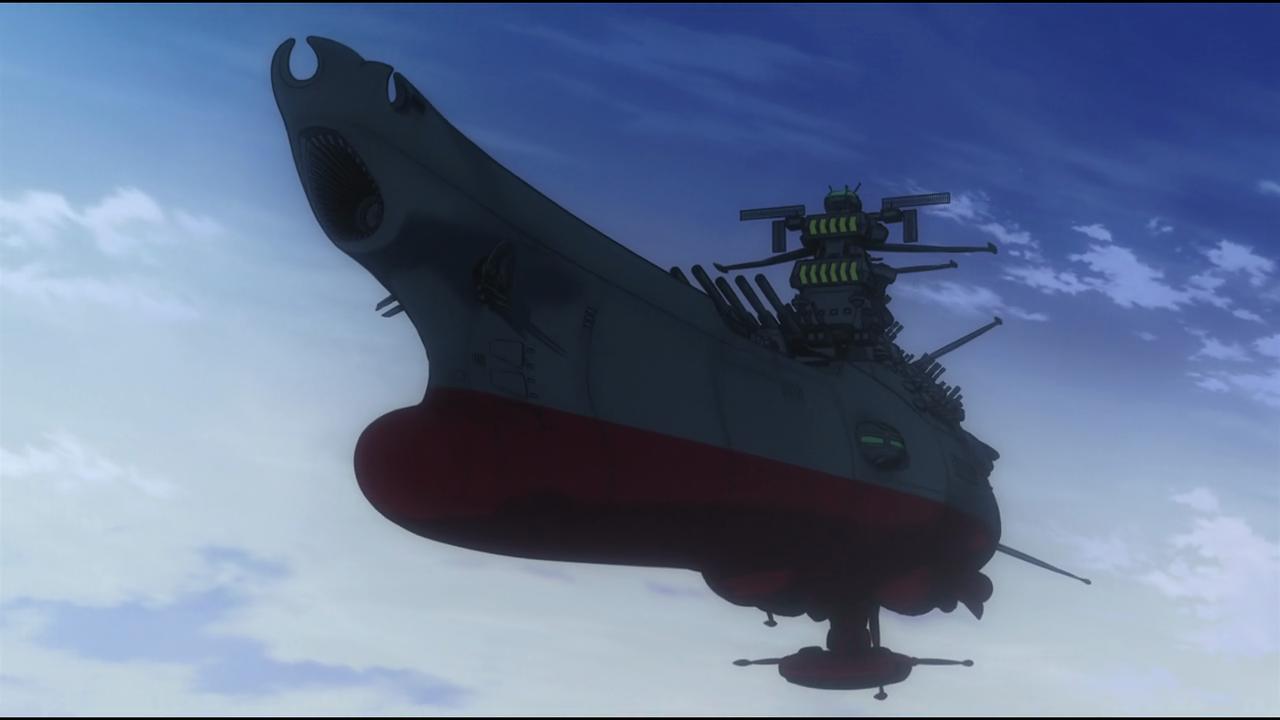 Star Blazers Battleship Yamamoto Aquaman