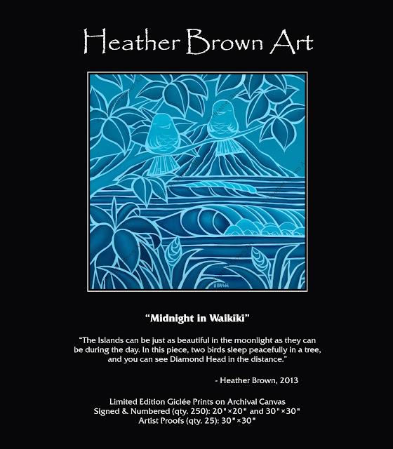 surf art heather brown
