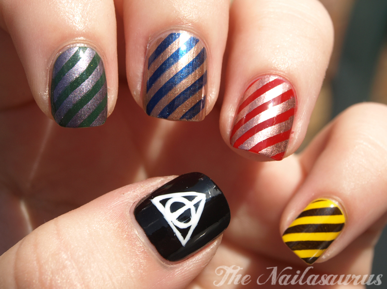 I\'ve had enough trouble for a lifetime\' (Harry Potter Nail Art ...