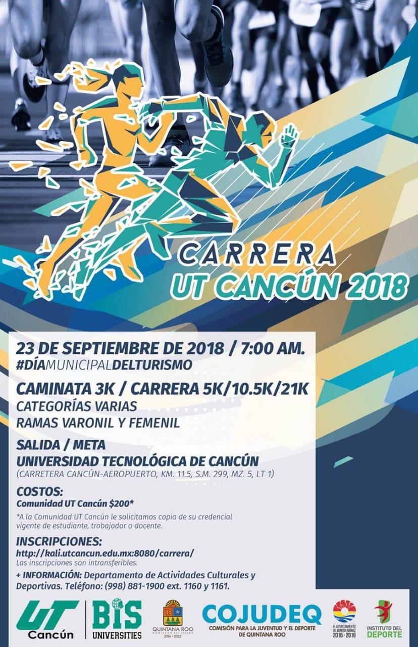 Carrera Ut Cancún 2018