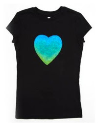 Glitter Heart Shirt Tutorial