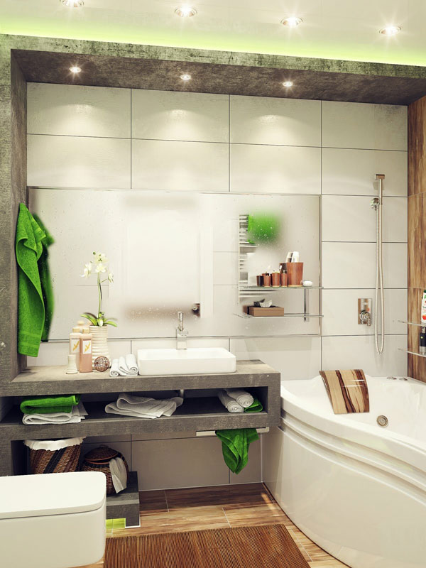 Ideas Baños Pequenos Diseno:Small Bathroom Design Ideas