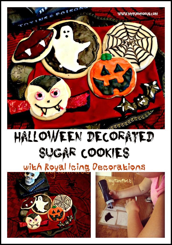 you - Decorating Halloween Cookies