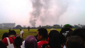 Kronologis Pesawat Jatuh Bandung Air Show 2012
