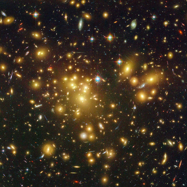 Galaxy Cluster Abell 1689 and A1689-zD1