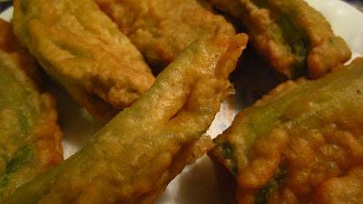 fiori di zucchina fritti e...tanto amore