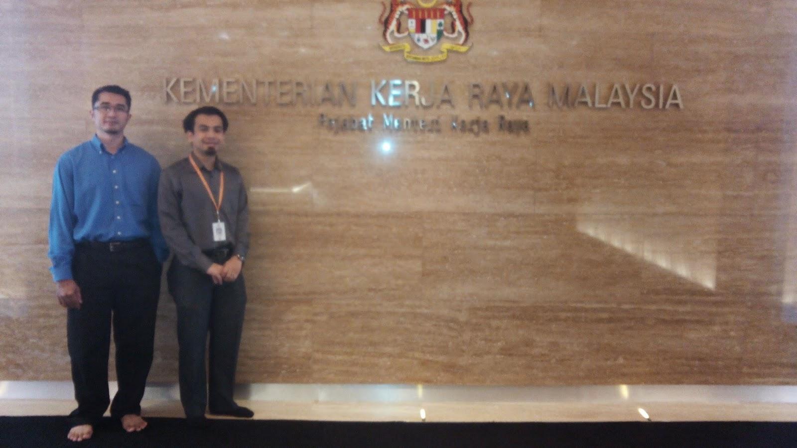 Lawatan ke Pejabat Menteri Kerja Raya