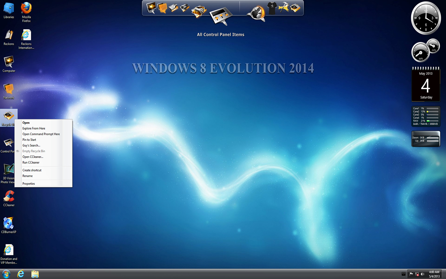 Windows 8 Evolution 2014 Activated ( x86-x64 ) Full Cracked Download