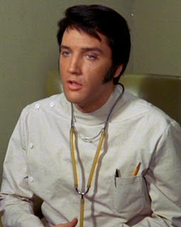 Elvis in 'Change of Habit' ©1969 Universal Studios