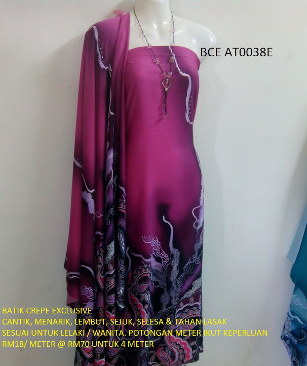BCE AT0038E: BATIK CREPE EXCLUSIVE