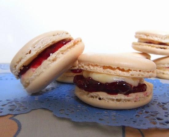 Bakewell Tart Macarons