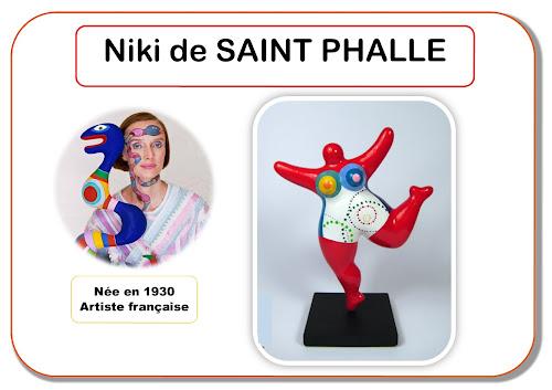 Niki de Saint Phalle - Portrait d'artiste en maternelle
