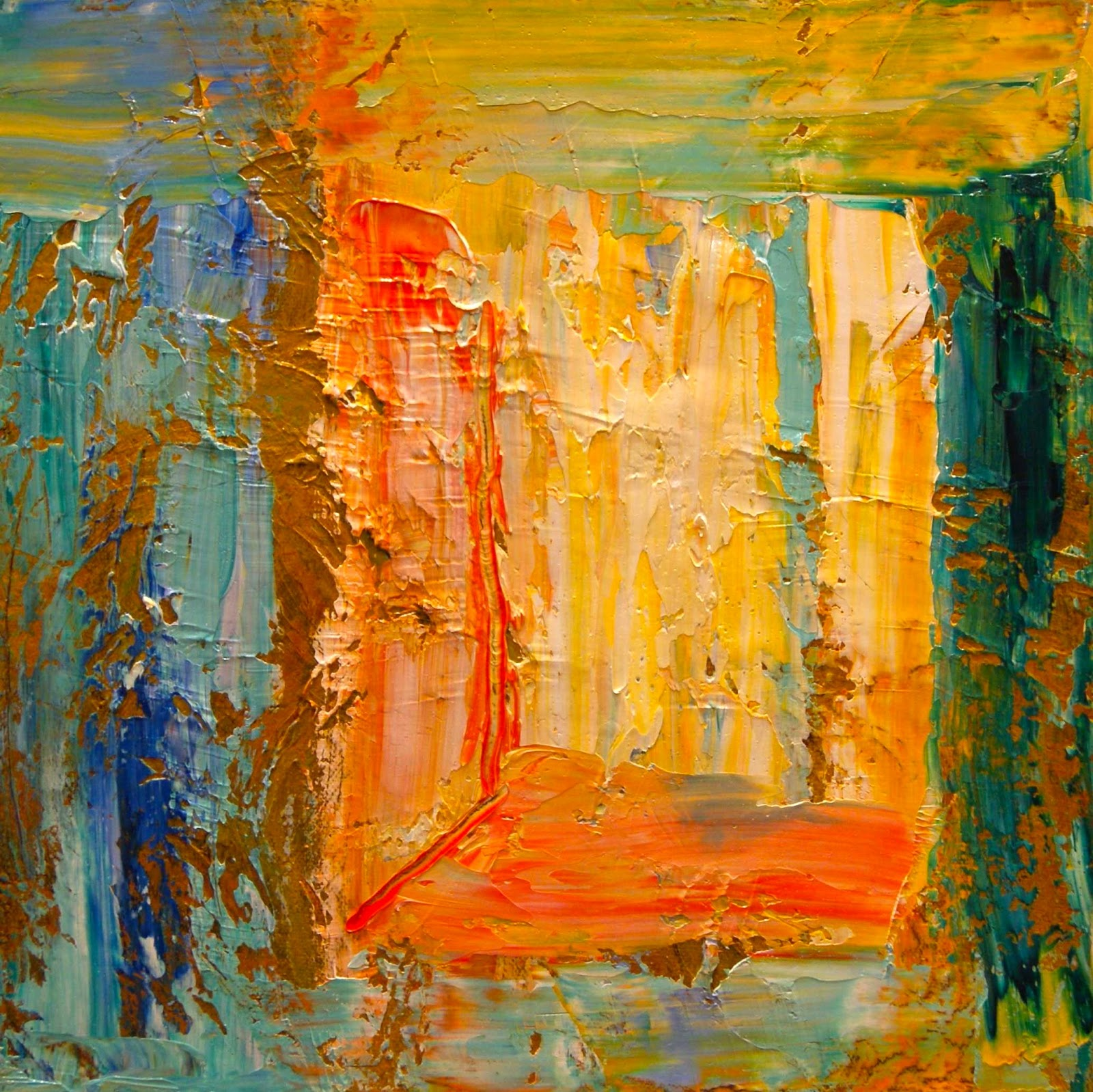 Paintings by Theresa Paden: Bright, Colorful Abstract ...