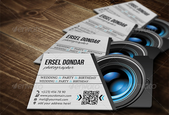 Awesome Photographer Business Cards Templates Best Graphic Templates - Photography business card template