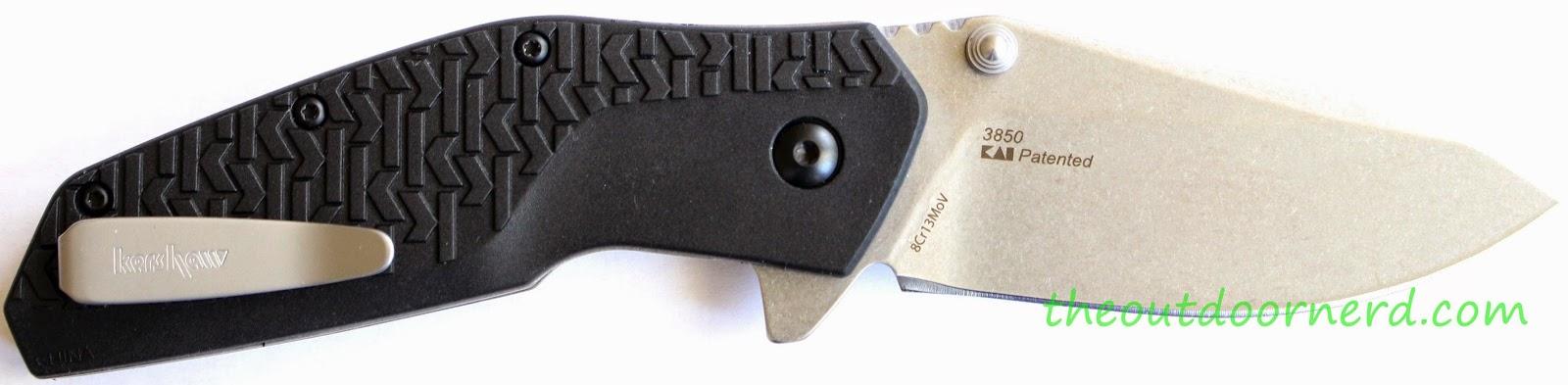 Kershaw Swerve EDC Pocket Knife: Product View 4