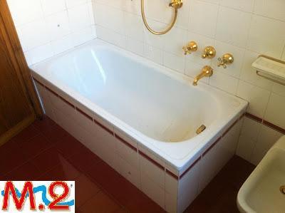Vasca Da Bagno Usurata : Sovrapposizione vasca da bagno m trasformazione vasca in