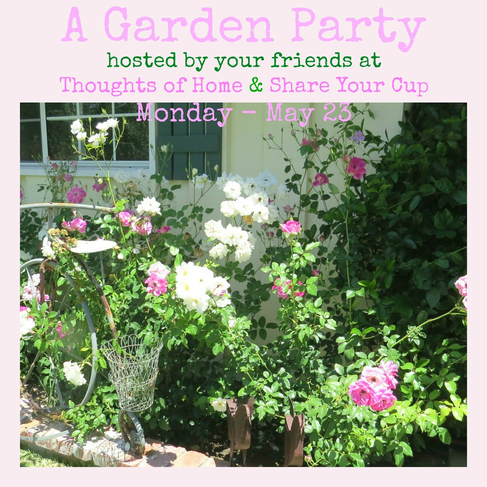 Garden Party Blog Hop