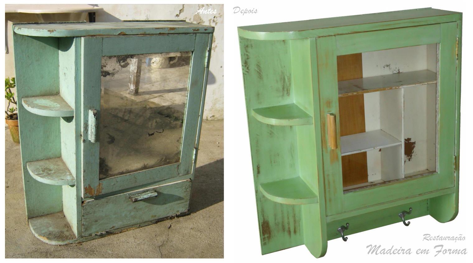 Restauração de Móveis de Época : Restauração de armário antigo. #947337 1520x847 Armario Banheiro Antigo
