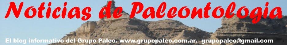 Noticias de Paleontologia
