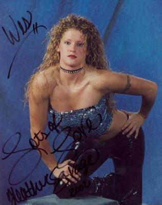 Heather Savage - Female Wrestling