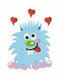 i ♥ monster Stickdatei 10x10 & 13x18
