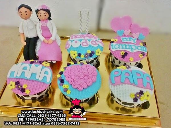 Cupcake Ulang Tahun Suami Daerah Surabaya - Sidoarjo