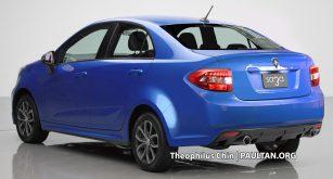 SpyShot: Proton Iriz Baru Versi Sedan