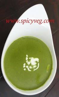 Spinach /Palak Soup