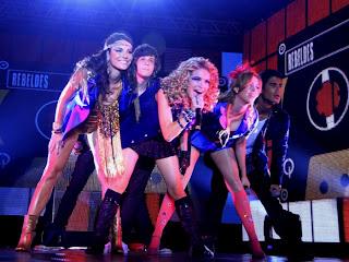 Agenda de Show - Rebeldes - Maio 2012