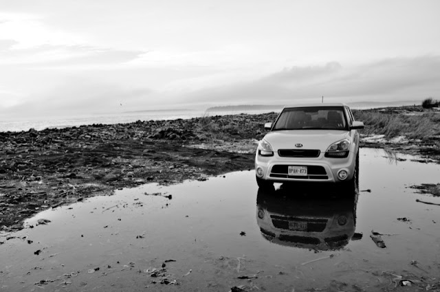2013 Kia Soul 4U reflections