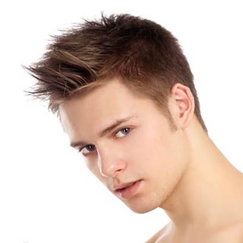 Gaya Rambut Pendek Pria Terpopuler - Gaya rambut pendek smoothing