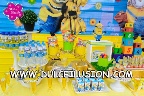 Decoracion Minions Para Fiestas Infantiles ~   de Fiestas Infantiles DECORACION FIESTA INFANTIL DE MINIONS  DULCE