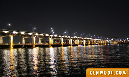 banpo bridge night