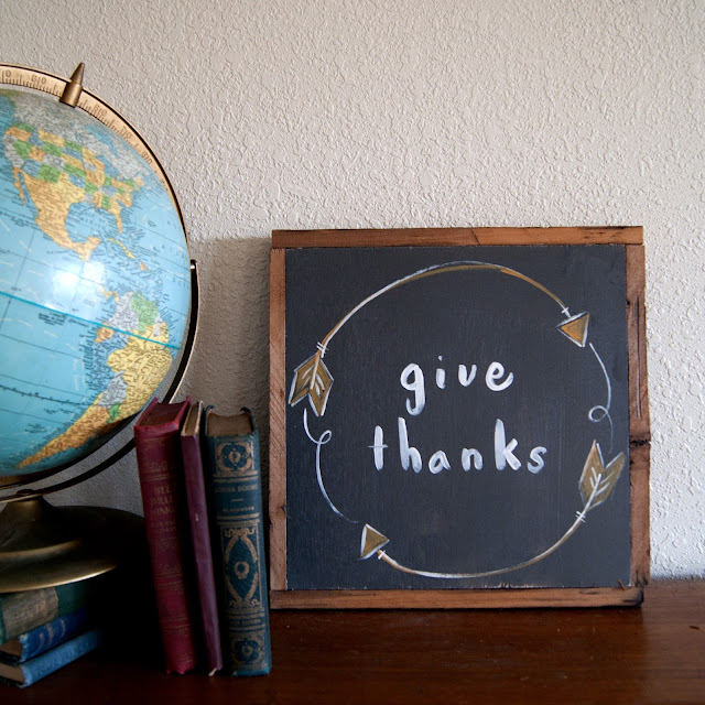 Averie Lane Boutique - Arrow Wreath - Give Thanks  - reclaimed wood, vintage books, mason jar