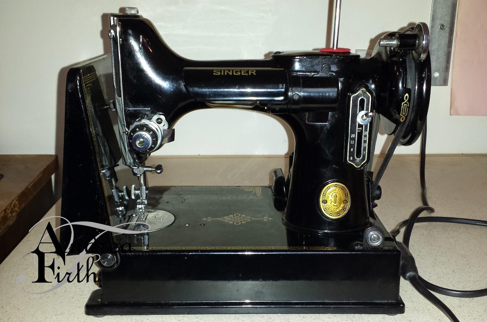 Obsessive Creativeness: 1953 Model 221K Singer ...