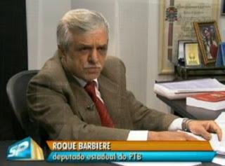 deputado estadual Roque Barbiere (PTB/SP)
