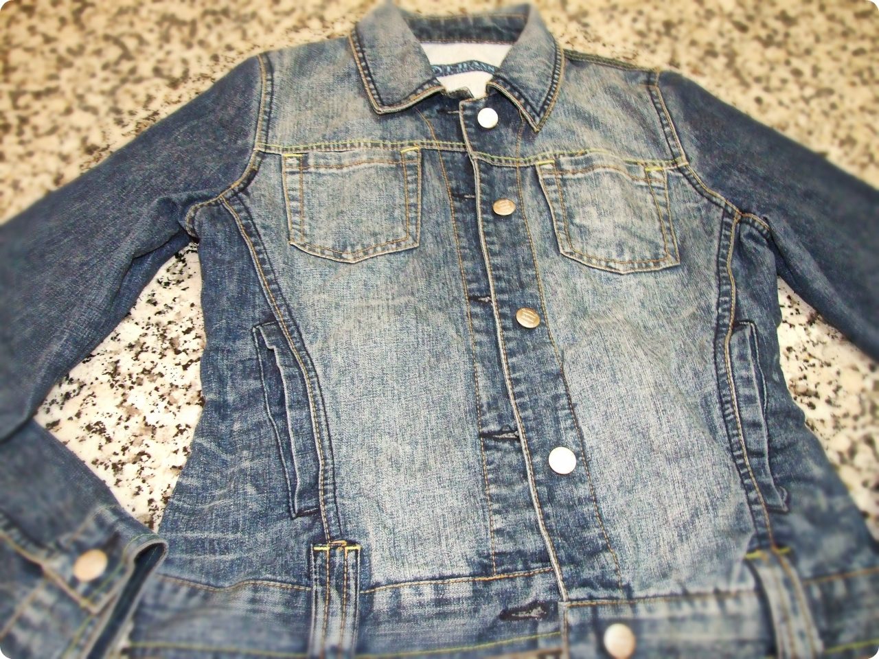 how to turn a denim jacket into a vest