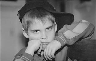 kid pouting