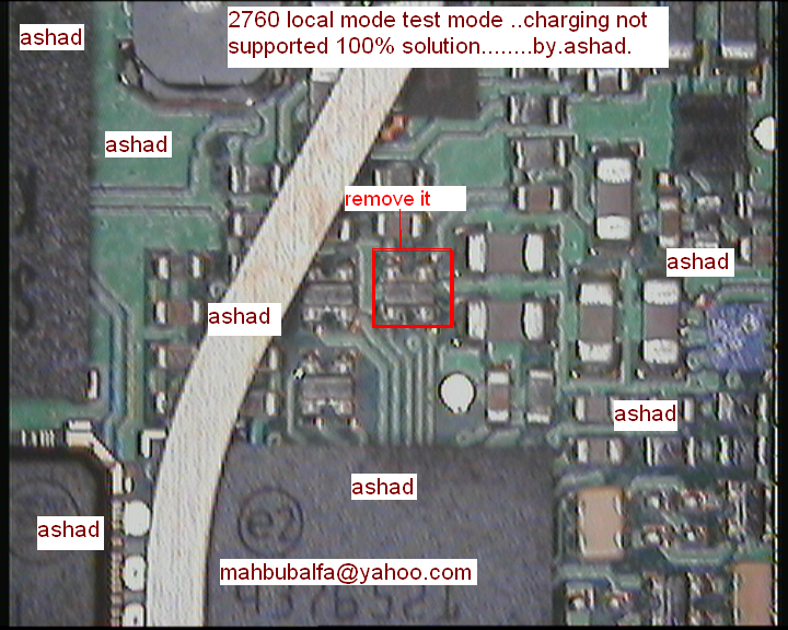 Nokia 2760 local mode test mode charging not supported solution.